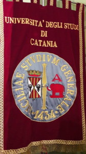 Lo Stendardo dell'Università di Catania