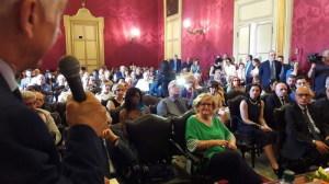 Il pubblico presente alla cerimonia di consegna del Premio Virdimura