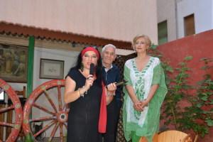 Al microfono Giusy  Di Mauro
