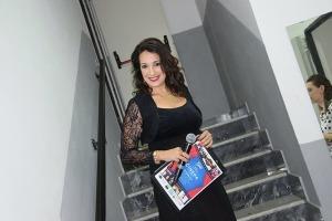 La presentatrice Silvana Paratore