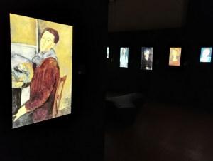 mostra Modigliani experience