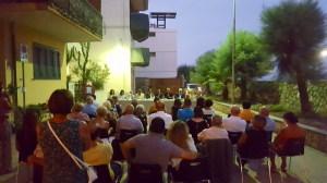 Il pubblico intervenuto alla presentazione del libro