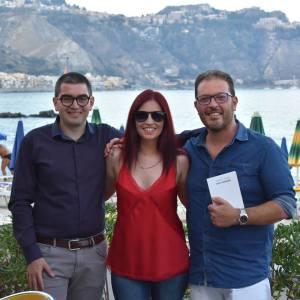 Da sin. Giuseppe Leotta, Daniela A. Sabato e Giovanni Bucolo