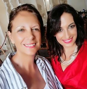 L'Avv. Silvana Paratore e la scrittrice Patrizia Giancotti