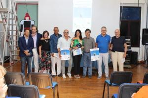 Foto con gli organizzatori del Congresso. Al centro l'avvocato Silvana Paratore