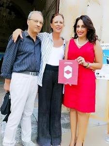 Lo pschiatra Roberto Motta, la scrittrice Patrizia Giancotti e l'avv. Silvana Paratore
