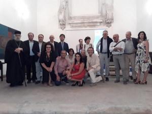 La foto di gruppo con relatori e organizzatori