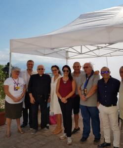 I medici e i volontari della giornata di solidarietà