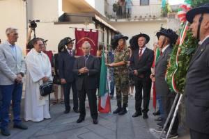 L'intervento del Preside Francesco Bottari (Foto Carmen Saglimbeni)
