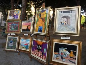 Alcuni quadri della mostra
