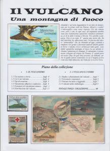 IL VULCANO prima pagina collezione