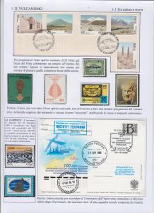 Pagina della collezione IL VULCANO con riferimento al teremoto di Messina