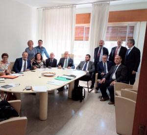 La foto di gruppo del Consiglio