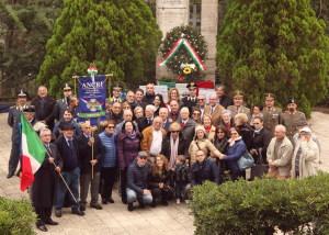 La foto di gruppo con i reduci