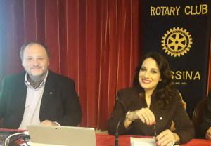 Il Prof. Francesco Pira e l'Avv. Silvana Paratore