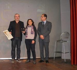 Barbara Orecchioolica - Arcidiocesi di Messina Lipari S. Lucia del Mela consegna il Premio Azione Cattolica Giardini Naxos 2018 a Angelo Sicilia