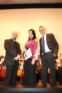 Al centro l'avv. Silvana Paratore