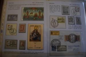 Francobolli della mostra