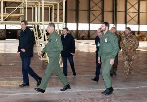 Sigonella visita CFSS - 11°RMV