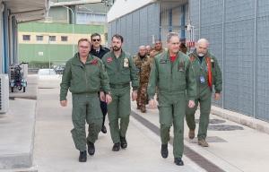 Sigonella visita CFSS - AGS NATO