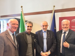 da sin. Squara, Lo Faro Biagini e Interdonato