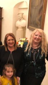 La dott.ssa Cristina Tornali e la Presidente della Repubblica di Malta