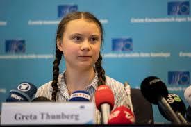 La svedese Greta Thunberg