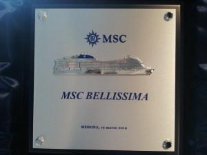 Il Crest della MSC