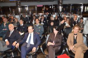 In prima fila il Sindaco di Messina De Luca e l'Avv. Silvana Paratore