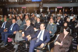 Il pubblico presente all'evento