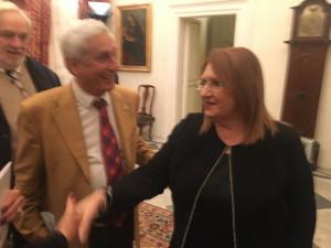 Con il Presidente dell'Associazione Sicilia Malta Avv. Silvio Aliffi