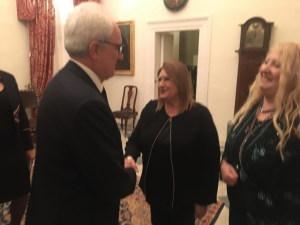 L'ambasciatore italiano Mario Sammartino