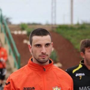 Il calciatore Alessandro Madera