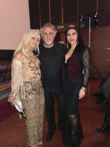 Flower Terry con Elisabetta Viaggi e Andrea Roncato
