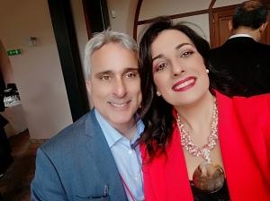 L'Avv. Silvana Paratore e il Prof. Mattace Raso