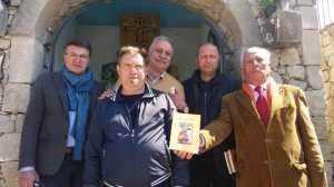 La foto di gruppo con Mario Oliveri