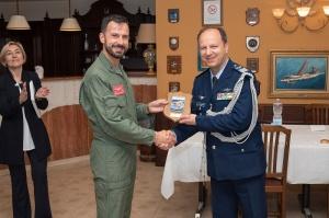 La visita addetti militari esteri
