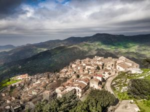 San Mauro Castelverde (PA) panoramica dall'alto