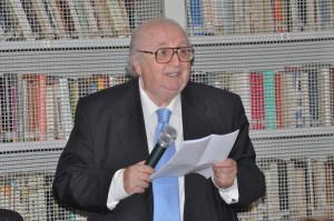 Il giornalista Piero Montes
