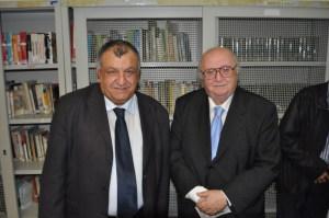 Il Sindaco Pancrazio Lo Turco e Piero Montes