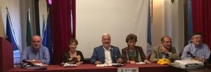 Da sin. Previti, Schepis, Interdonato, Gualtieri, D'Arrigo e Cancellieri
