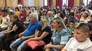 Il pubblico presente alla presentazione del libro