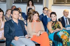 Tra il pubblico in prima fila il sindaco di Messina De Luca