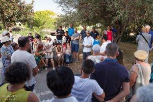 Il pubblico nel Parco Archeologico