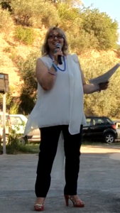 La prof.ssa Angela Vecchio