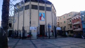 La piazza antistante la chiesa dell'Immacolata dove si svolgerà l'evento