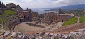 Il Teatro Greco di Taormina dove si svolgerà la manifestazione