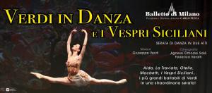 La locandina del balletto