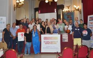 La foto con i partecipanti all'incontro