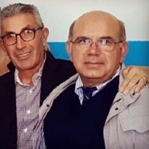 Il Giannitto con il Presidente dell'Accademia
